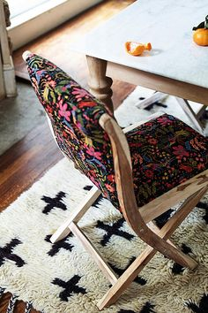 Slide View: 6: Rifle Paper Co. Terai Chair