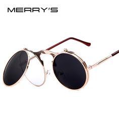 Steampunk sunglasses w/Flip-up Lenses