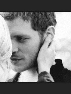 The way Klaus looks at Caroline *wow*