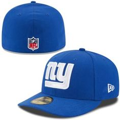 Men s New York Giants New Era Royal On-Field Low Crown 59FIFTY Fitted Hat f1767c549