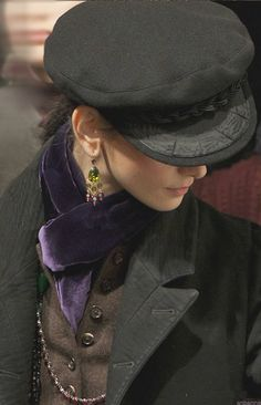 Ralph Lauren - so love the accessories, he is a genius with them.