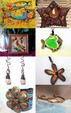 Rustic Charms -- by SusansBeadHappy.etsy.com