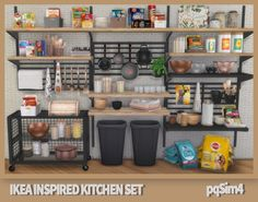 The Sims 4 Custom Content. Sims 4 Cc Furniture Living Rooms, Los Sims 4 Mods, Sims 4 Cc Folder, Sims 4 Kitchen, Sims 4 Anime, The Sims 4 Packs, Muebles Sims 4 Cc, Sims 4 Bedroom, Sims 4 Clutter