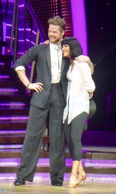 Jay e @AlionaVilani na turnê do Strictly em Birmingham, na Inglaterra. (via @missfairy15) (22 jan.)