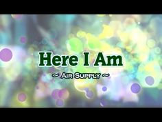 """""""Here I Am (Just When I Thought I Was Over You)"""" is the title of a popular song from 1981 (see 1981 in music) by. Church Songs, 100 Chart, Air Supply, Billboard Hot 100, Karaoke, Album, Thoughts, Music, Youtube"""