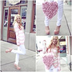Valentine's Giveaway! Win this outfit (jeans, cardigan & shoes!!) End's This Friday the 8th!