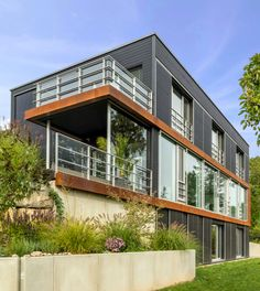 Modern Gebautes Haus U0027Pawliczecu0027 Von Baufritz ➤ Erhalte Alle Infos Zum Haus  Mit Einem