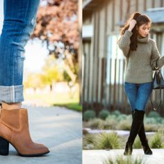 The Definitive Boots Outfit Guide [Dress with Boots, Booties with Jeans & More] What Is Business Casual, Business Casual Outfits, Stylish Outfits, Fall Outfits, Business Clothes, How To Wear Ankle Boots, Dress With Boots, Cold Weather Outfits, Cute Boots
