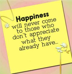 Happiness quote via Endline on Facebook