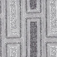 Fabric - Milos in Ebony by Martin Lawrence Bullard Rose Design, Interior Design Inspiration, Contemporary Furniture, Fabric Design, Print Patterns, Mosaic, Prints, Fabrics, Upholstery