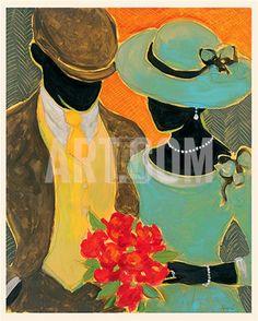 Black Art in America Black Art Painting, Black Artwork, African American Artwork, American Artists, Illustrations Vintage, Afrique Art, Figurative Kunst, Black Art Pictures, Black Love Art