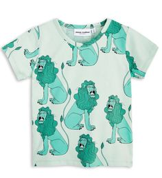 104-110 Cm Mini Rodini Roe Deer LS T-Shirt
