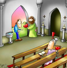 Scripture Doodle, Bible Art, Catholic Kids, Kids Church, Jesus Cartoon, Jesus Artwork, Bible Images, Religion Catolica, Bride Of Christ