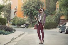 Layer Up! I Love Christelle's style!