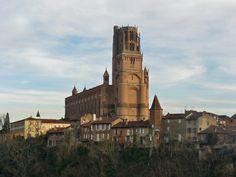 Cathedrale Ste Cecile. Albi. Midi-Pyrenees