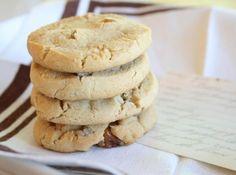 Butterscotch Refrigerator Cookies #justapinchrecipes