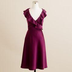 Rosalind Dress in Tricotine - Lyst
