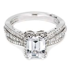 My exact engagement ring with a guard?!