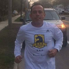 Boston Marathon Race Director Dave McGillivray runs the race and then after the race he runs his own 26.2. He is headed towards the finish line right now after thousands of you have earned your unicorn he is earning his. #bostonmarathon #bostonstrong #boston #runnner #running #marathon #262 #bq #bostonqualified #DaveMcGillivray #RaceDirector #run #race by pacepermile