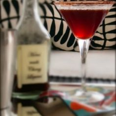 Black Forest Manhattan - single malt whiskey, cherry liqueur and cocoa make a cocktail that tastes like cake!