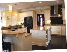 Buy #Kitchen #Cabinets Online For Large Kitchen Great Elongated Kitchen Cabinets Design | Kitchen Cabinets | Pinterest | Buy kitchen cabinets ... & Buy #Kitchen #Cabinets Online For Large Kitchen Great Elongated ... kurilladesign.com