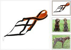 Black-X-Back-Sled-Dog-Harness-S-M-L-XL-XXL-Harnais-pour-chien-de-traineau