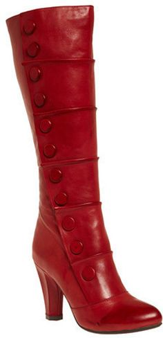 Modcloth Red The Kapow Boot