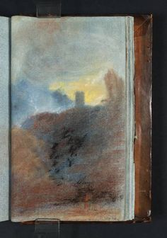 Joseph Mallord William Turner 'Study for the Composition of 'Dolbadern Castle', RA 1800', c.1799–1802