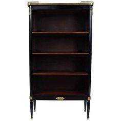 Edwardian Empire Style Bibliotheque For Sale at 1stdibs