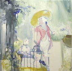 Lovelies Lazing Languorously - ala Fragonard