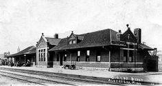 Former Chicago, Rock Island & Pacific railway station in Albert Lea, Minnesota.