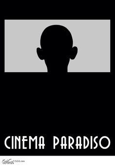 Cinema Paradiso Minimal Poster.