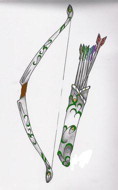 greek goddess who shot arrows   Artemis Symbol Bow And Arrow