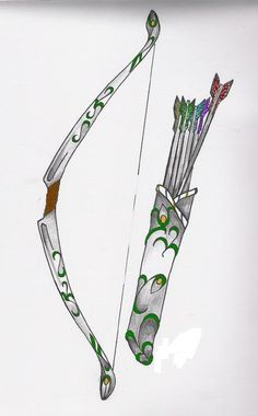 greek goddess who shot arrows | Artemis Symbol Bow And Arrow