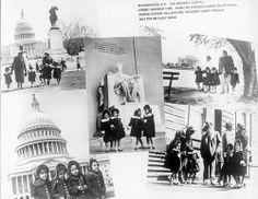 The Fultz Quads visit Washington DC, and even ran into President Truman taking his daily walk.