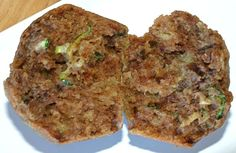 Healthier Sweet Zucchini Muffins Recipe-tried making them tonight with apple sauce