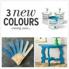 The first New Color GIVERNY  by Annie Sloan Chalkpaint Lve it!