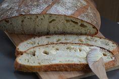 Tanulj meg sütni!: Parasztkenyér előtésztával (DNK) Food And Drink, Keto, Bread, Minden, Brot, Baking, Breads, Buns