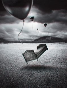 surrealismo Black White Photos, Black And White, My Bubbles, Photoshop, Photography Sites, Surreal Art, Wake Up, Sculpture Art, The Dreamers