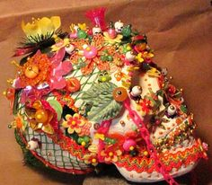 Day of the Dead Mexican art sugar SKULL