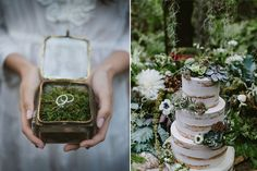 Create magical memories with a beautiful enchanted forest wedding palette for your Big Day.