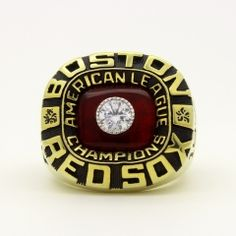 1975 Boston Red Sox American League Championship Ring