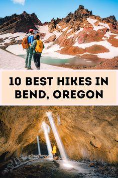 Helpful Illustrative Guide to the 10 Best Hikes in Bend, Oregon Oregon Road Trip, Bend, Oregon Trail, Central Oregon, Oregon Hiking, Oregon Coast Hikes, Seaside Oregon, Visit Oregon, Astoria Oregon