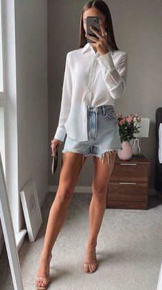 Basic Outfits, Cute Casual Outfits, Izabel Clothing, Spring Summer Fashion, Spring Outfits, Vintage Street Fashion, Night Out Outfit, Elegant Outfit, Looks Cool