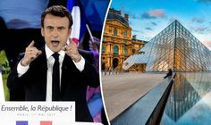 THE man who is favourite to become France's new president after tomorrow's election has already booked the venue for his celebration – Paris's world famous Louvre museum.
