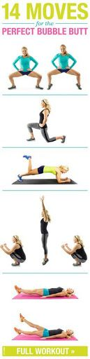 Get a nice and toned booty with these moves?