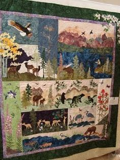 Quilt Patterns With North Woods Flair Quilts With Bears