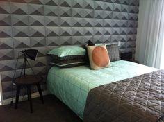 Mint + Grey + Geometric