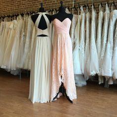 Mismatched Bridesmaids Dresses   Tan Size 14 (Runs Small) Blush Size 10 (Runs Small) Bridesmaid Dresses, Prom Dresses, Formal Dresses, Simple Dresses, Easy Dress, Mix Match Bridesmaids, Blush, Bridal, Size 14