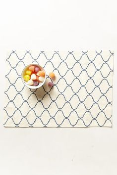 Scroll-Weave Placemat - anthropologie.com ($16.00)